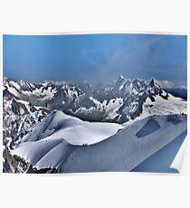 Mont Blanc. Poster