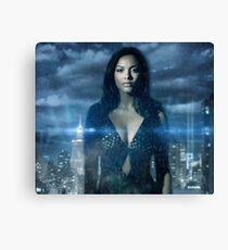 Gotham Tabitha Galavan Skyline Design Canvas Print