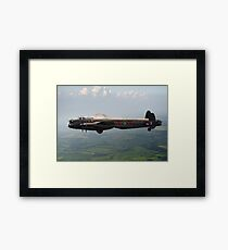 Dambusters Lancaster AJ-G carrying Upkeep Framed Print