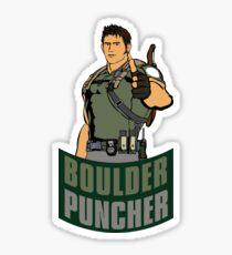 Chris BOULDER PUNCHER Redfield Sticker