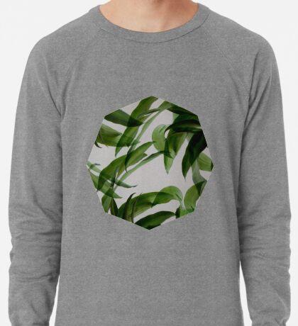 Tropische Blätter Leichter Pullover