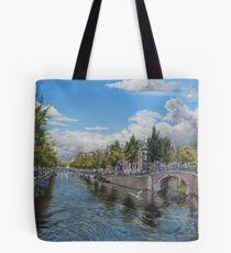 Amsterdam zeven bruggen Tote Bag