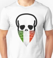 Italy Skull Gangster black  T-Shirt
