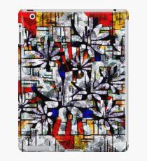 Daisy Abstract after Mondrian iPad Case/Skin