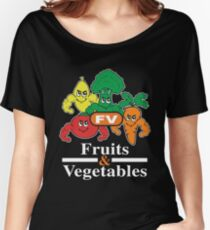 Fruits and Vegetables T-Shirts Renato Laranja Women's Relaxed Fit T-Shirt
