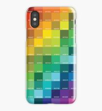 Rainbow Hex Colors iPhone Case/Skin