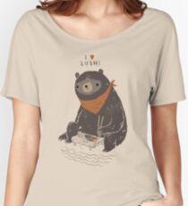 Sushi-Bär Baggyfit T-Shirt