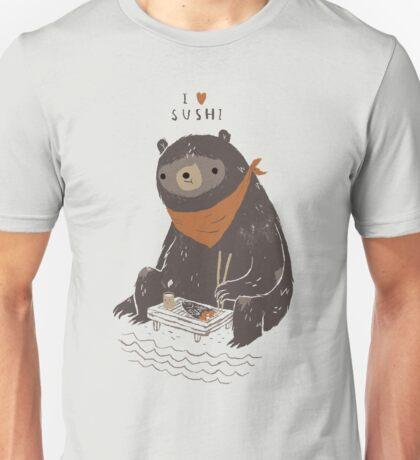 sushi bear Unisex T-Shirt