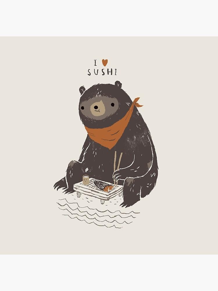 sushi bear by louros