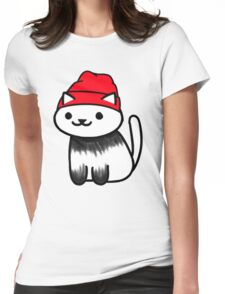 Tyler Joseph Neko Atsume Womens Fitted T-Shirt