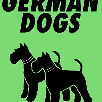 German Dogs by neonpanther