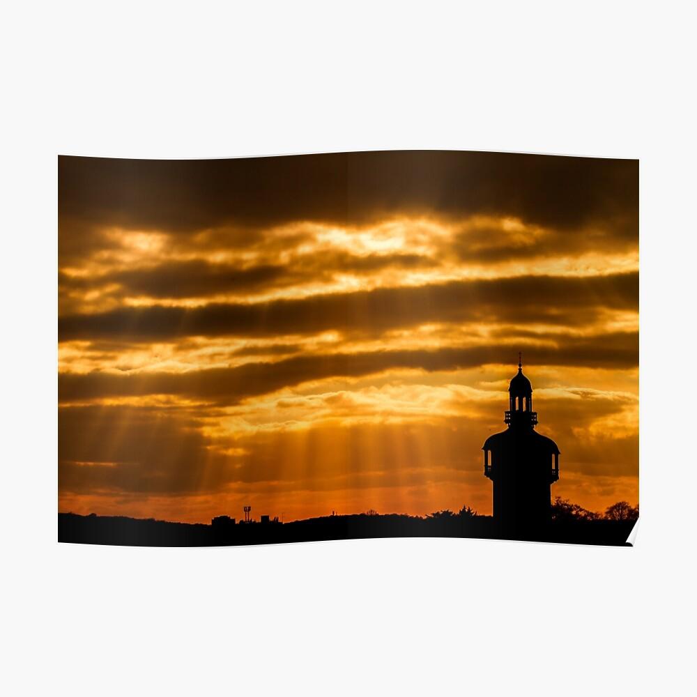 Carillon Sunset Poster
