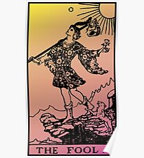 Tarot - The Fool Poster