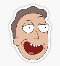 Rick and Morty – Jerry Fan Sticker