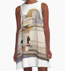Vienna Secession. A-Line Dress