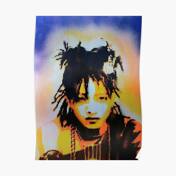 Willow Smith Stencil Poster