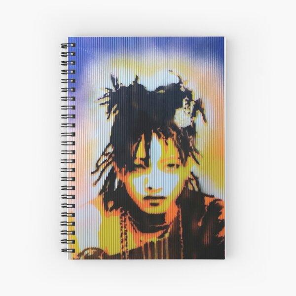 Willow Smith Stencil Spiral Notebook