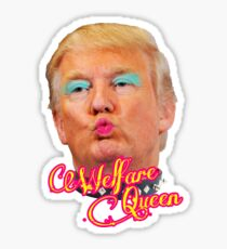 Trump Welfare Queen Sticker