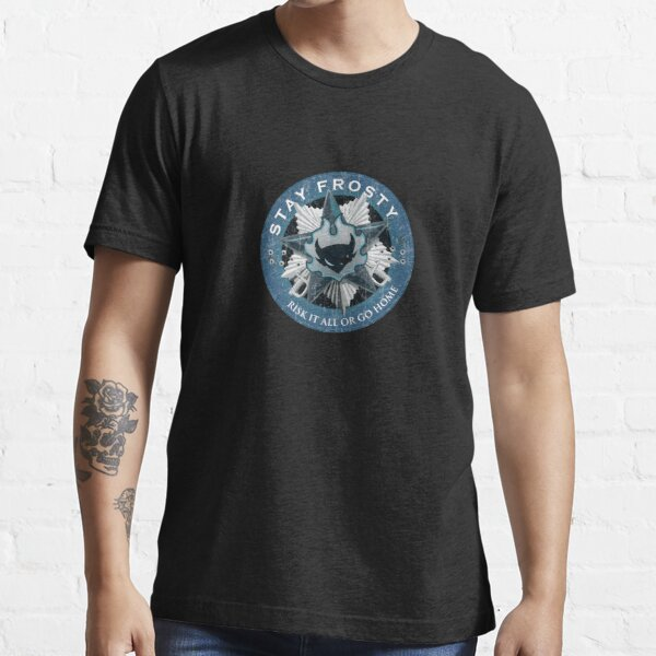 Stay Frosty Grunge Crest Essential T-Shirt