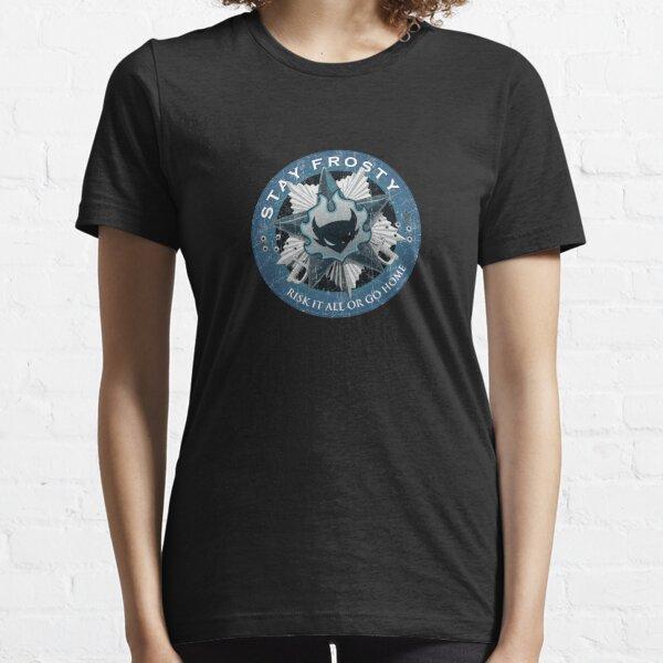 Stay Frosty Grunge Crest Essential T-Shirt