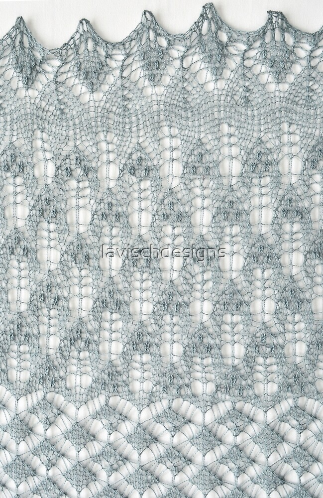 Estonian lace knitting by lavischdesigns