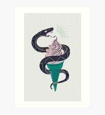 Soft-Serp(ent) Art Print