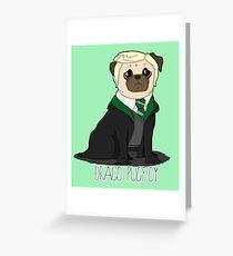 Draco Pugfoy! Greeting Card