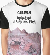 Caravan - In the land of Grey and Pink Graphic T-Shirt