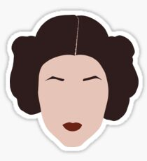 "Carrie Fisher - ""I Want My Life To Be Art"" Sticker"