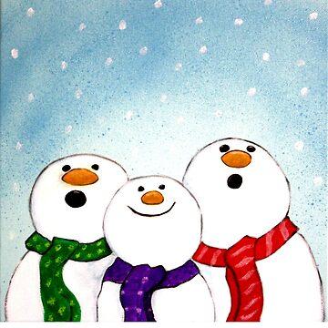 Snowmen by klentz