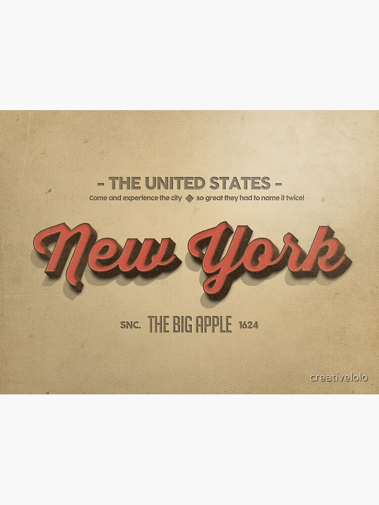 Vintage New York 1 by creativelolo