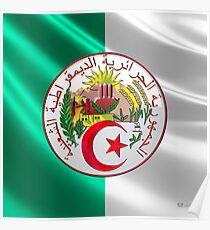 Algerien - Wappen Poster