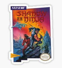 Shadow of the NInja - NES Box Art Sticker