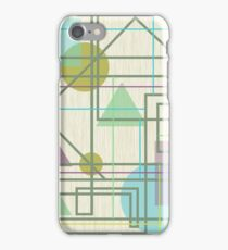 Geometric patterns iPhone Case/Skin