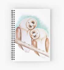 Twoo of a kind Spiral Notebook