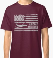American Aircraft Mechanic United States  Classic T-Shirt