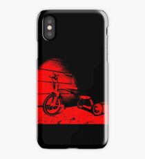 Red Tricycle iPhone Case