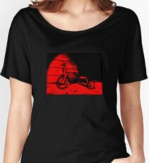 Red Tricycle Women's Relaxed Fit T-Shirt