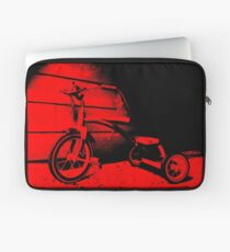 Red Tricycle Laptop Sleeve
