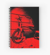 Red Tricycle Spiral Notebook