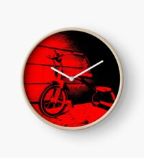 Red Tricycle Clock