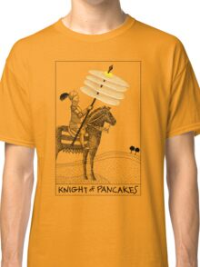 Knight of Pancakes Breakfast Tarot Classic T-Shirt