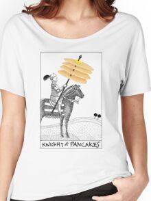 Knight of Pancakes Breakfast Tarot Women's Relaxed Fit T-Shirt
