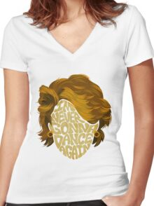 George Women's Fitted V-Neck T-Shirt