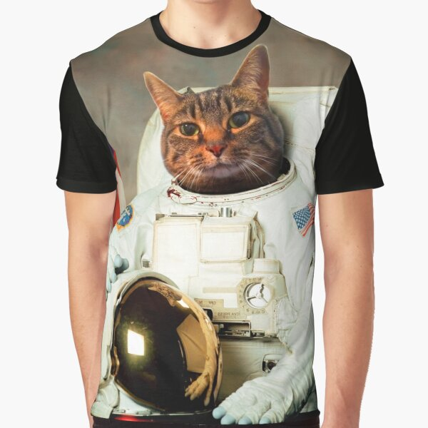 AstroCat Graphic T-Shirt