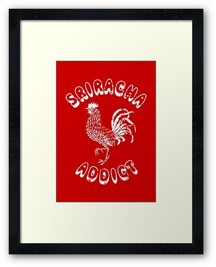 Sriracha Addict Vintage by tinybiscuits