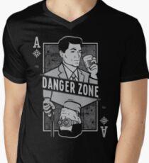 Archer of Spades Mens V-Neck T-Shirt