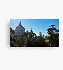 Vatican Museums Canvas Print