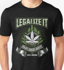 Legalize Marijuana T Shirt Medicinal Marijuana Unisex T-Shirt