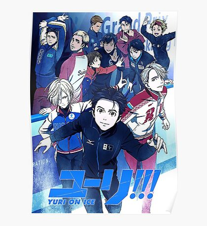 YURI ON ICE POSTER MAX RESOLUTION Poster